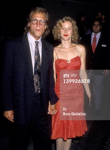 Woody Harrelson with his ex-wife Nancy Simon