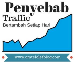 Penyebab Traffic Bertambah Setiap Hari