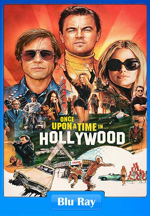 Once Upon A Time In Hollywood 2019 720p BluRay x264 | 480p 300MB | 100MB HEVC Poster