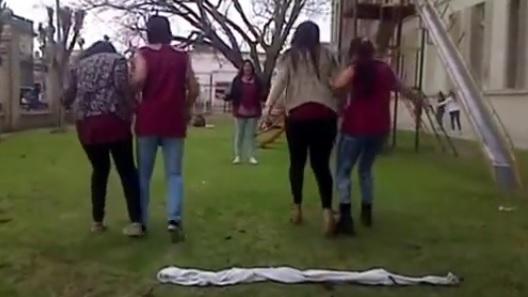 juego de carrera de 3 pies