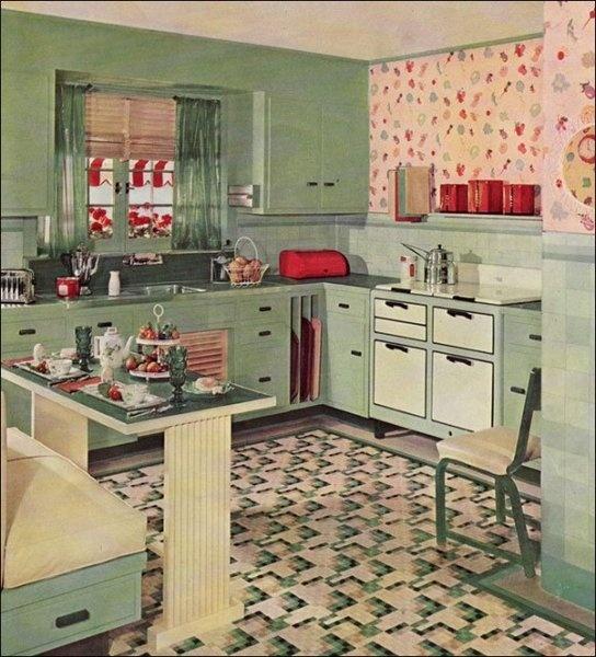 Kitchens via Calfinder Remodeling Blog Renovation - 1950'S Kitchen Remodel Ideas