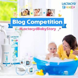 lomba blog lactacyd baby story