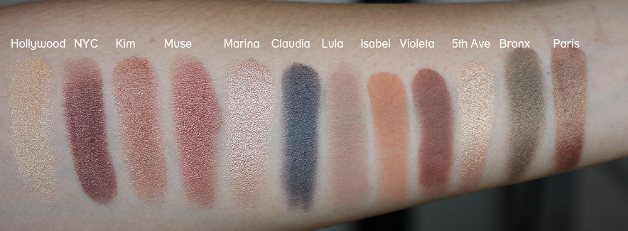 Anastasia Master Palette by Mario Review Swatch