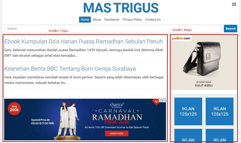 Cara Update Template Blogger Mudah