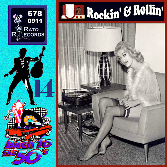 Cd collection Back To The 50's - Rockin' & Rollin' 14 Front