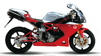 Bimota DB5 side profile image