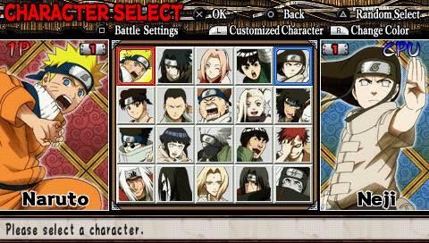Naruto Ultimate Ninja Heroes SS 3