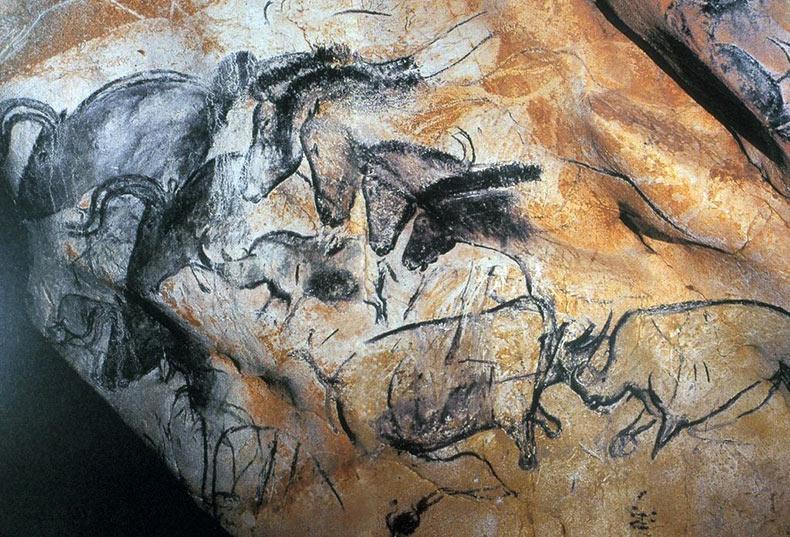 Las pinturas rupestres de la cueva Chauvet-Pont-d'Arc | Francia