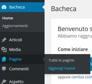 Come creare una pagina su WordPress
