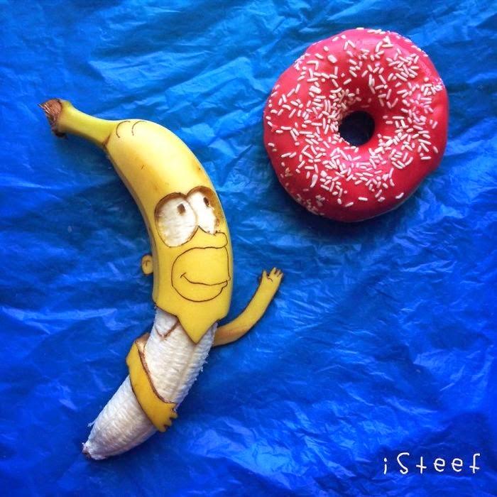 banane umjetnosti