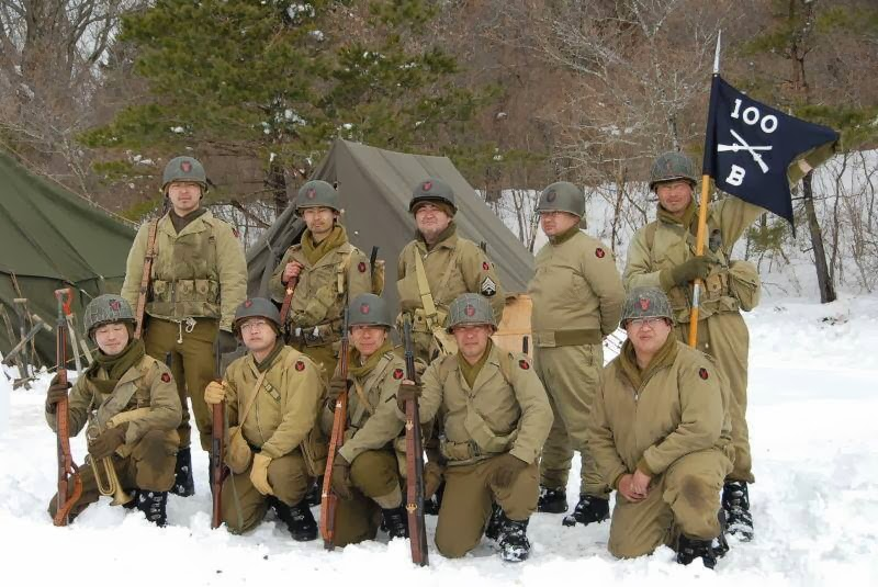 Red Bull Rising: Japan-based WWII Reenactors Conduct Winter Event