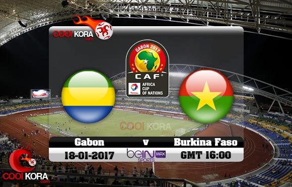 إصابات مباراة الجابون وبوركينا فاسو