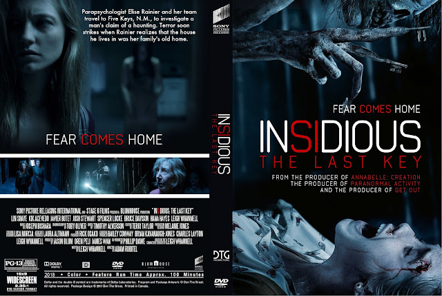 Insidious The Last Key DVD Cover