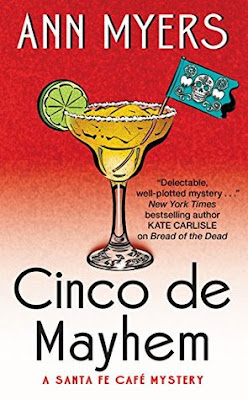Twitter, Review, Cinco de Mayhem, Ann Myers, Bea's Book Nook