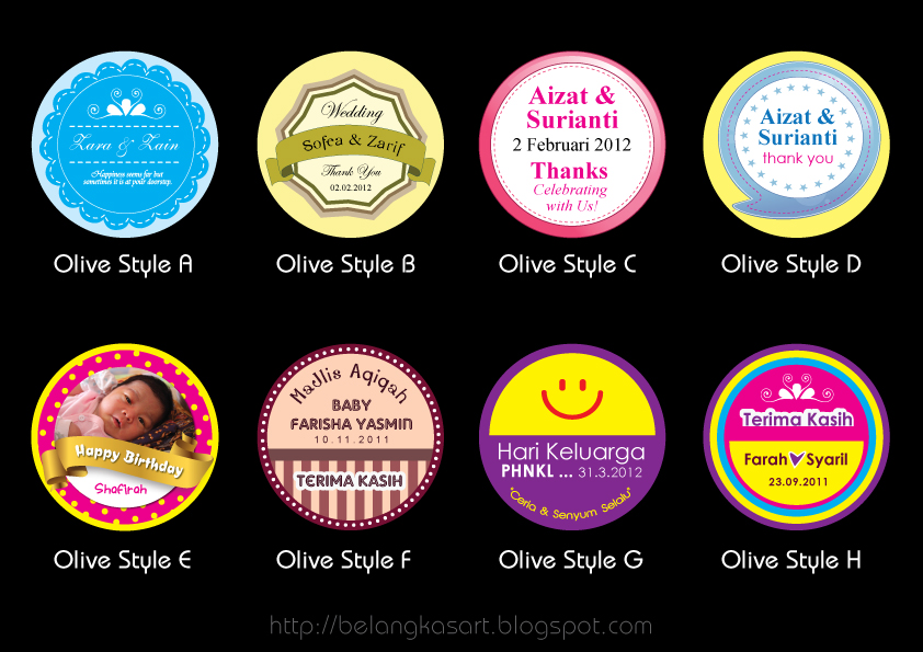 Design Sticker Goodies