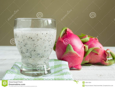 dragon fruit makes the skin glow