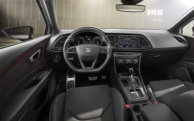 2017 Seat Leon CUPRA - interior