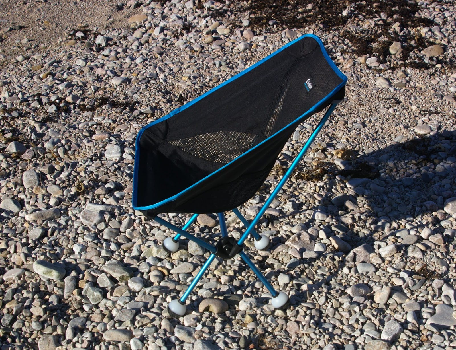 "Mountain and Sea Scotland Equipment Review Helinox ""Chair e"