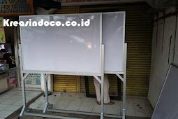Papan White Board Dari Rangka Aluminium Berkualitas