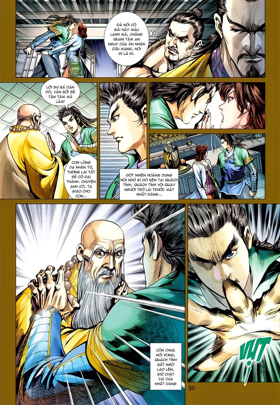Anh Hùng Xạ Điêu anh hùng xạ đêu chap 78: sát anh trang 30