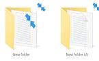 Vô hiệu hóa biểu tượng mũi tên màu xanh trên các thư mục và tập tin trong Windows 10