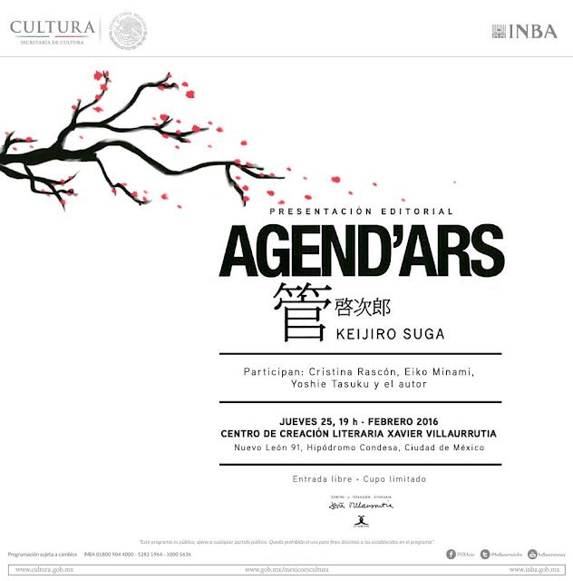 """Presentarán """"Agend'Ars"""" en una edición bilingüe en el CCLXV"""