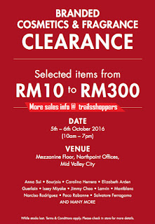 Branded Cosmetics & Fragrance Clearance Sale