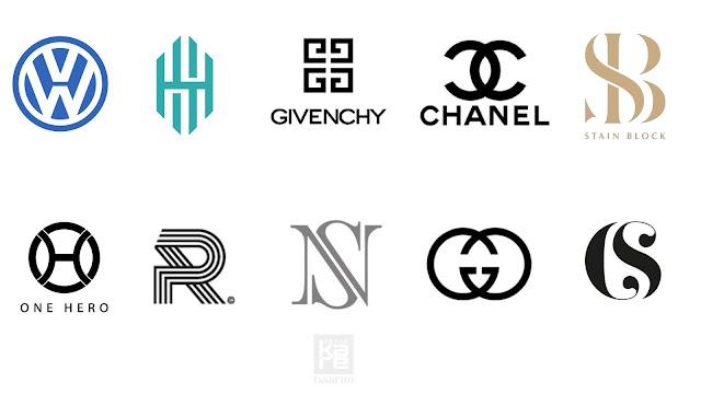 monogram logo örnekleri