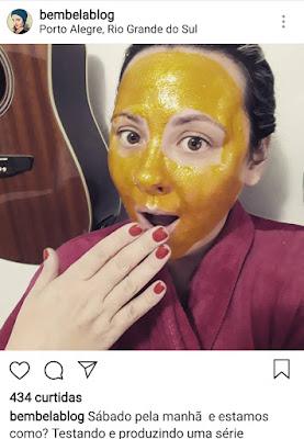 Máscara-gold-avenca