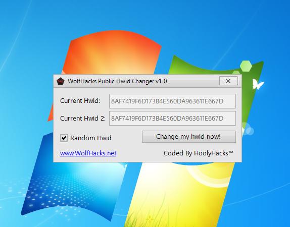 WolfHacks Public Hwid Changer v1 0 - 100% Free - No Hwid - No Ads
