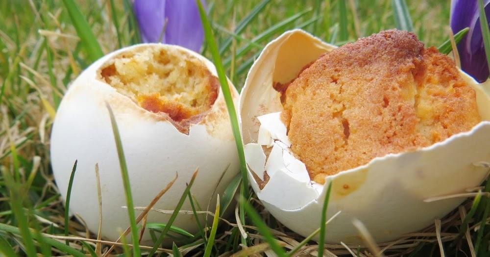 sinnesfreuden muffins in der eierschale. Black Bedroom Furniture Sets. Home Design Ideas