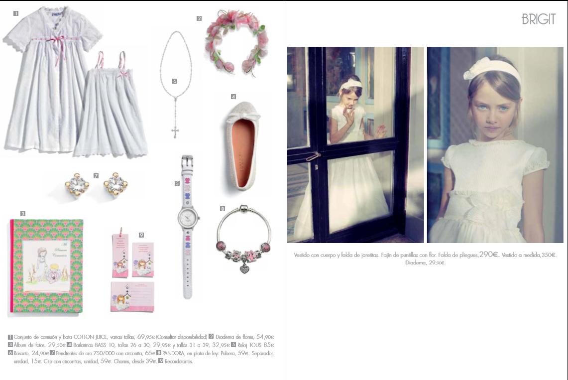 Moda adolescentes y ni os elegancia estilo vestidos de - Catalogo regalos corte ingles ...