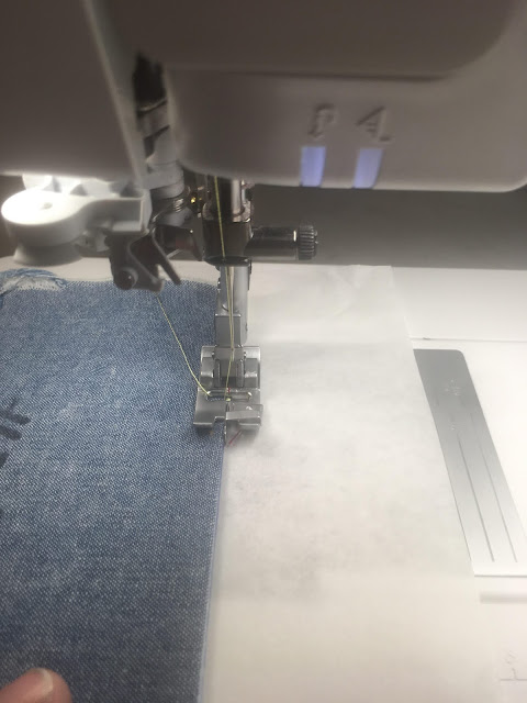 How to do the floating stitches with the Pfaff Creative Icon