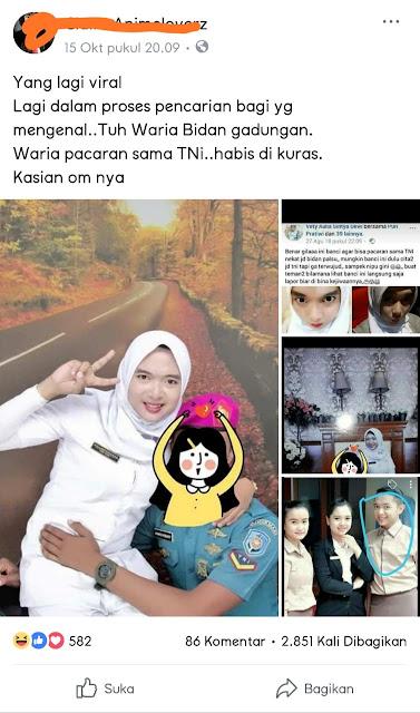 VIRAL !! Bidan Waria Pacari Anggota TNI, Semua Habis Dikuras