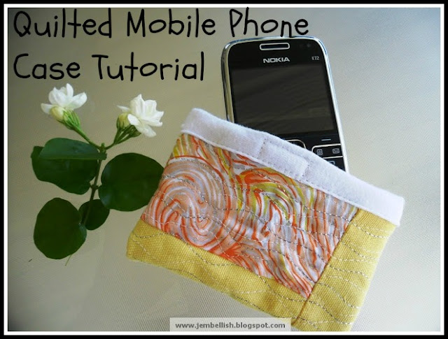 Quilted Mobile Phone Case