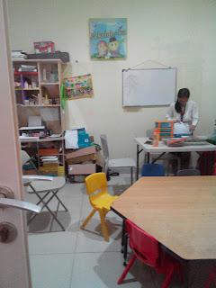 Salah satu ruang belajar dan bermain