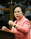 Senator Miriam Defensor-Santiago's Privilege Speech