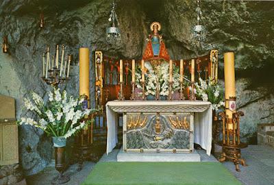 Virgen de Covadonga, postal de Alarde, 1969