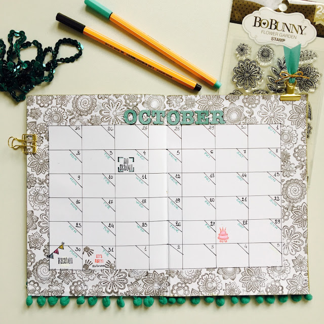 DIY Planner by Angela Tombari using BoBunny Dreams of Autumn Collection