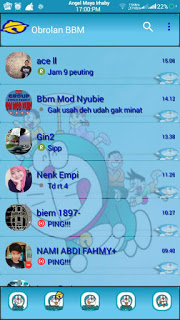 BBM Mod Doraemon v3.0.1.25 Apk