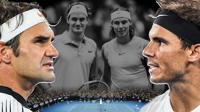 Resultado de imagen de Rafa Nadal y Roger Federer