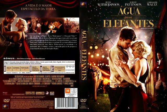 Capa DVD Água para Elefantes
