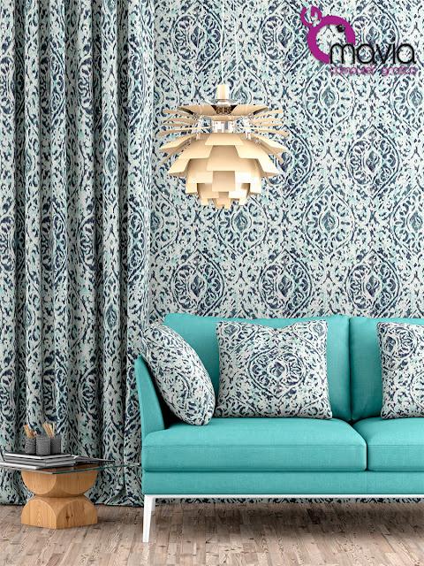 Arredamento di interni rendering 3d tessuti divani tende for Tessuti inglesi per arredamento