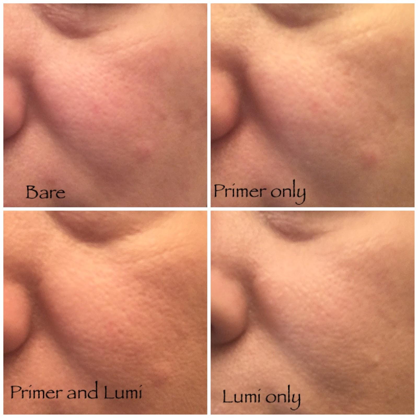 Exploring Drugstore Primers Milani Prime Light Strobing Pore Minimizing Face Primer And Loreal Lumi Foundation Wear Test