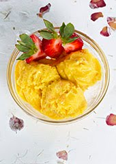 3-Ingredient Mango Tango Coconut Ice Cream (Vegan)