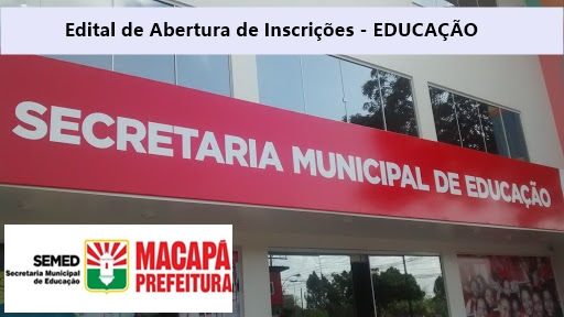 concurso Prefeitura Municipal de Macapá edital, inscrição, vagas, cargos, apostilas