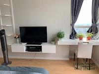 Sapphire 2 SGP cho thuê căn hộ 2 phòng ngủ - tivi trong phòng ngủ