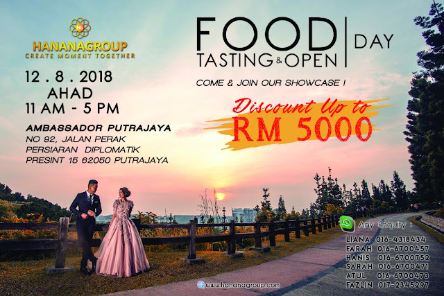 Hanana Group Anjur Food Tasting & Open Day