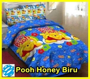 bed cover hello kitty murah