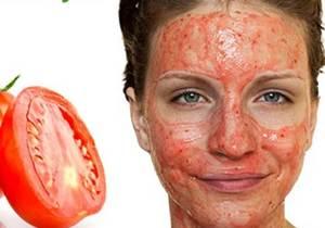 masker jerawat dari tomat